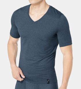 S BY SLOGGI SOPHISTICATION Heren v-neck met korte mouwen